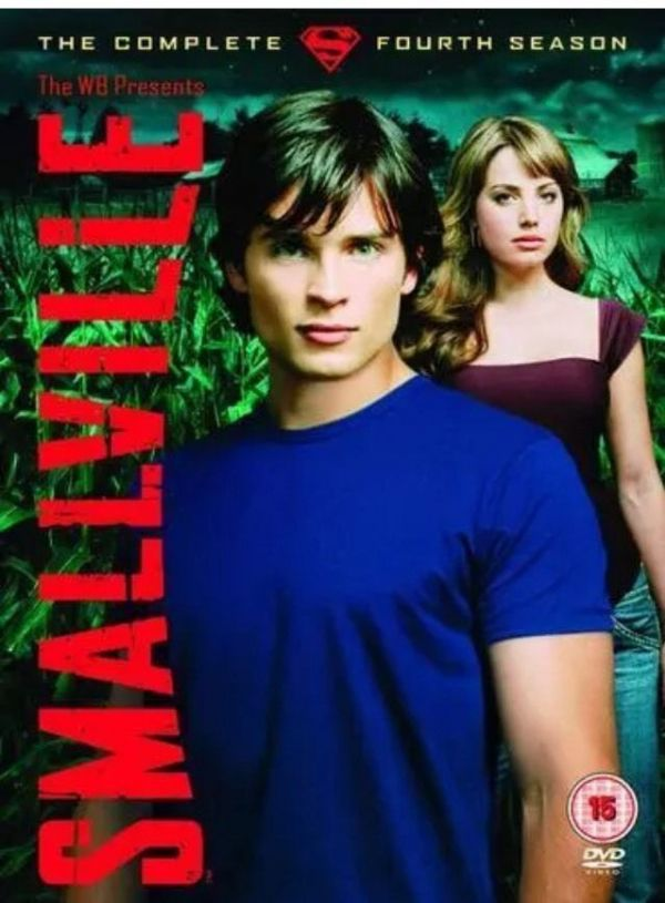 Smallville - Series 4 - Complete  (DVD 6-Disc Set 2005) USED